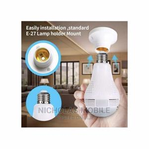 360 Panoramic Wifi Spy Surveillance Bulb Camera | Security & Surveillance for sale in Lagos State, Ojo