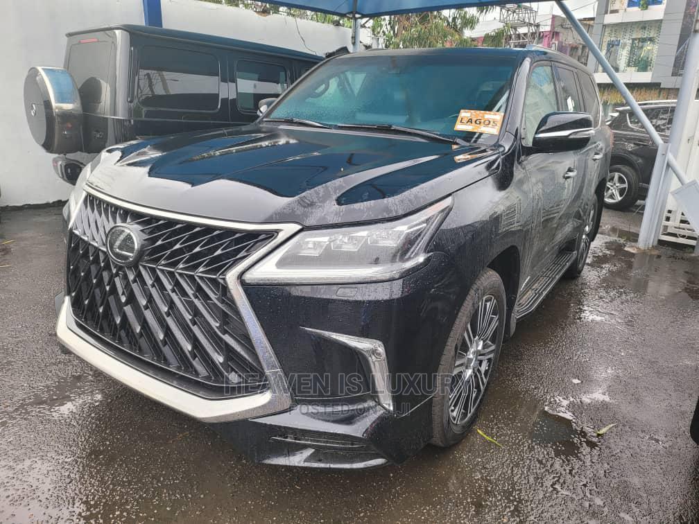 Archive: New Lexus LX 2021 Black