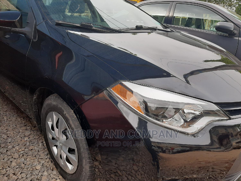 Toyota Corolla 2015 Black | Cars for sale in Garki 2, Abuja (FCT) State, Nigeria