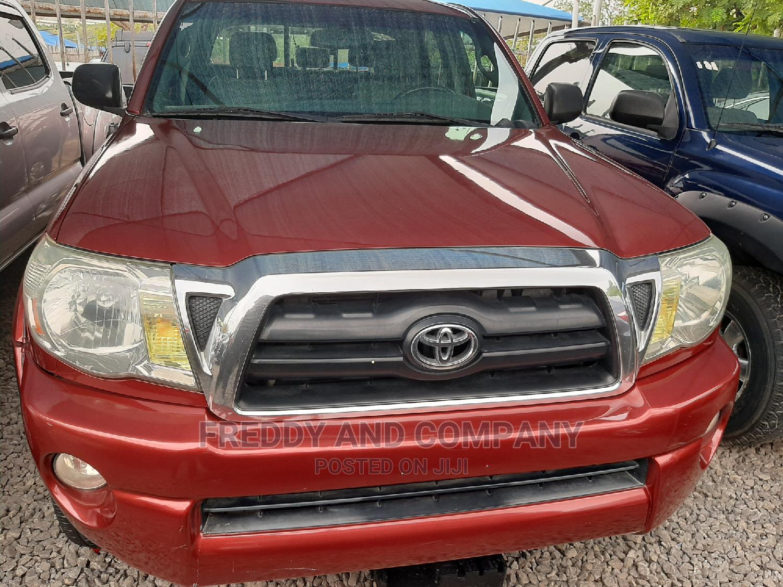 Toyota Tacoma 2007 Red | Cars for sale in Garki 2, Abuja (FCT) State, Nigeria