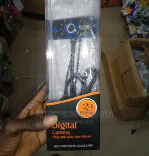 24MP HD Digital Camera With Microphone Webcam- | Computer Accessories  for sale in Lagos State, Ikeja