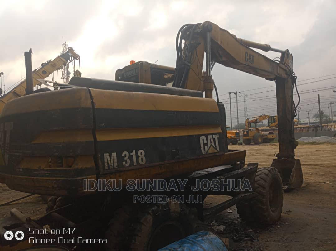 Archive: 318 Mobile Crane Excavator