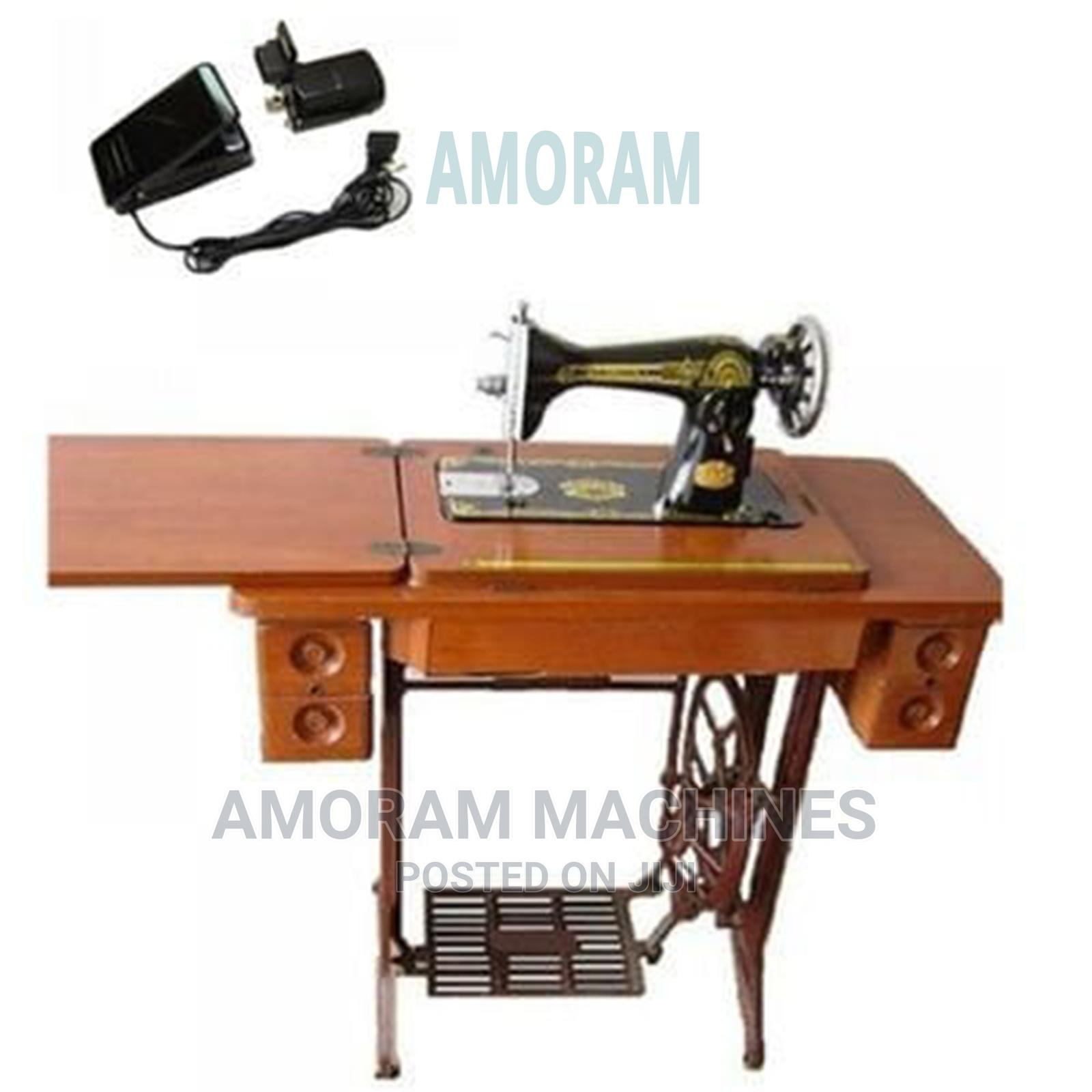 Original Automatic and Manual Sewing Machine Butterfly