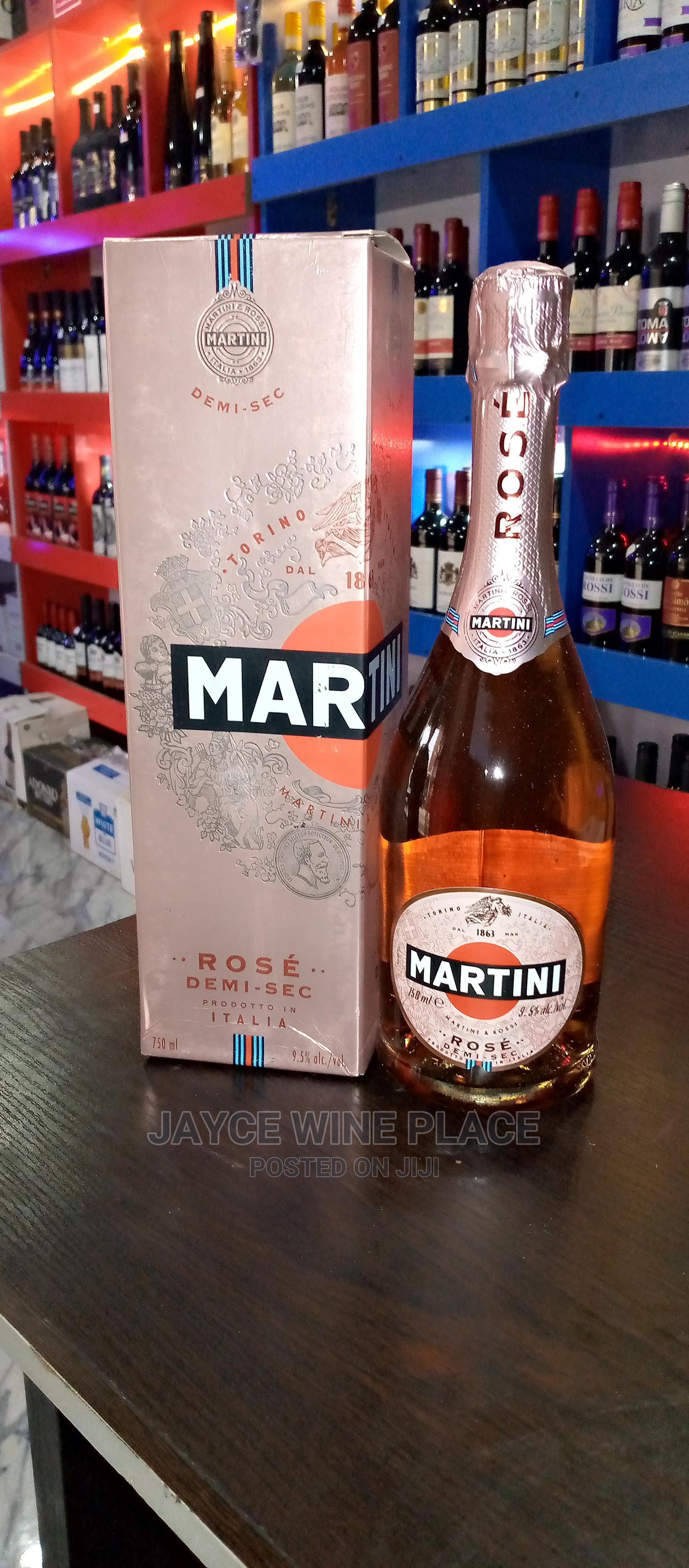 Martini Rose Champagne