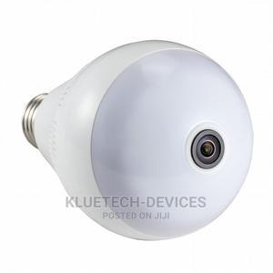 1080P HD 2MP Fisheye Panoramic Bulb Light Wireless IP Camera   Security & Surveillance for sale in Lagos State, Ikeja