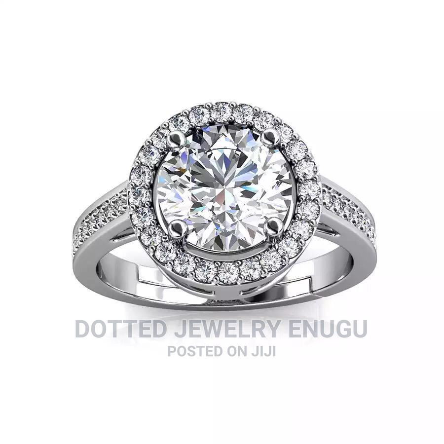 Gorgeous 925 Sterling Silver Engagement Ring