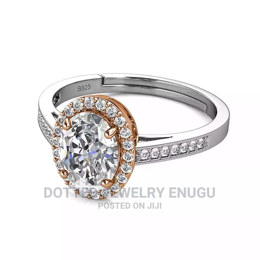 Gorgeous 925 Sterling Silver Engagement Ring | Wedding Wear & Accessories for sale in Enugu / Enugu, Enugu State, Nigeria