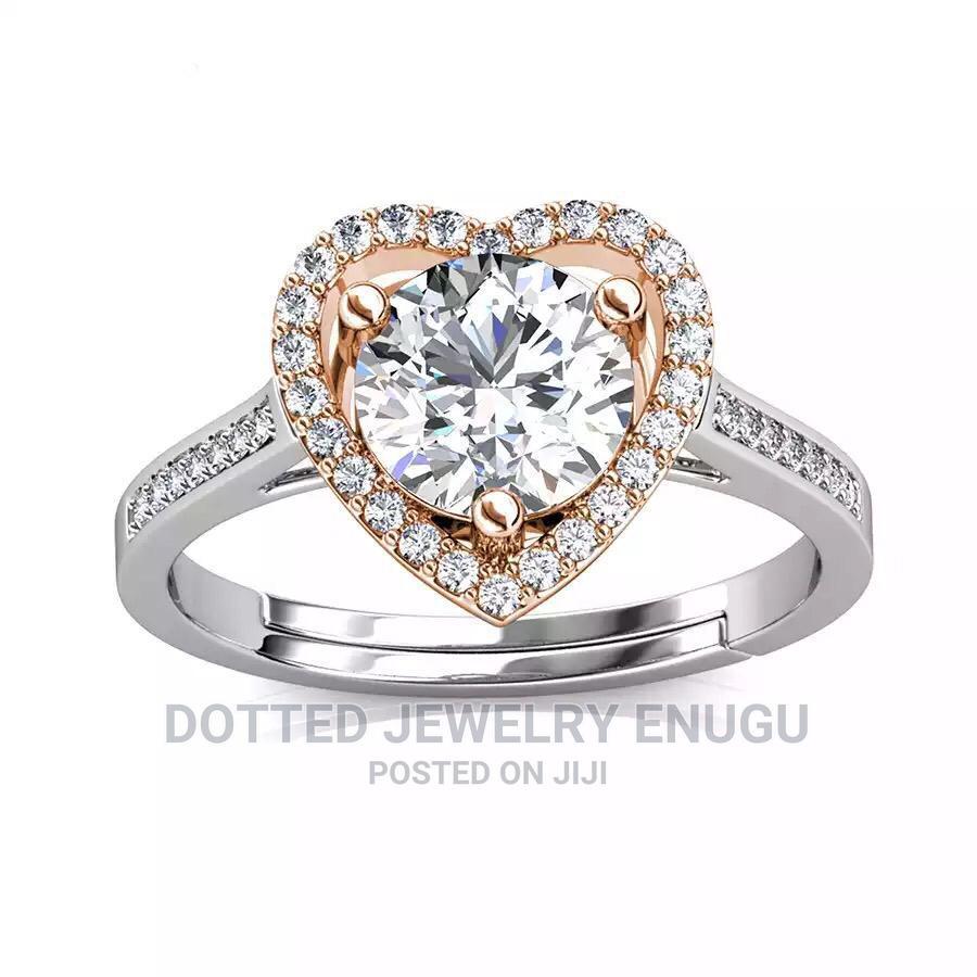 Gorgeous 925 Sterling Silver Engagement Ring | Wedding Wear & Accessories for sale in Enugu / Enugu, Enugu State, Nigeria