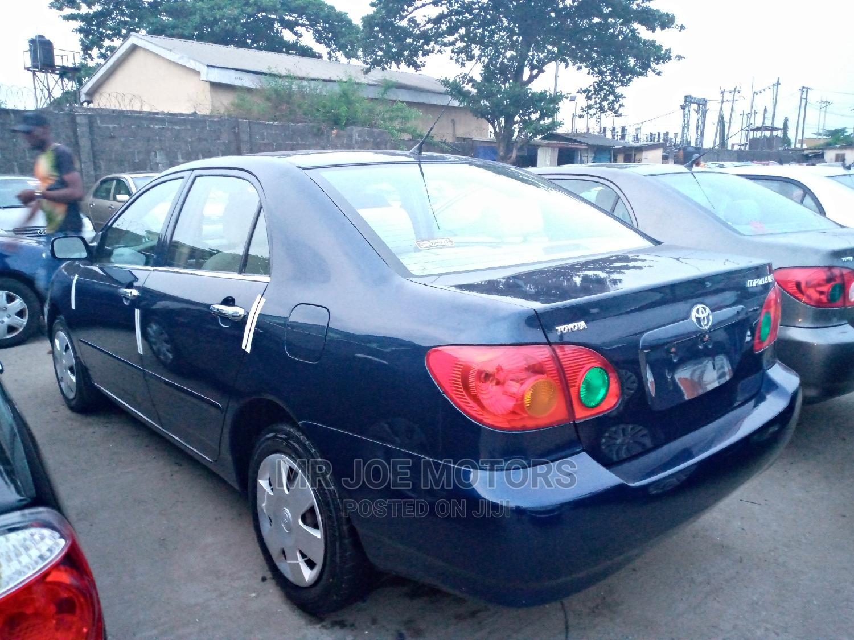 Toyota Corolla 2004 LE Blue   Cars for sale in Apapa, Lagos State, Nigeria