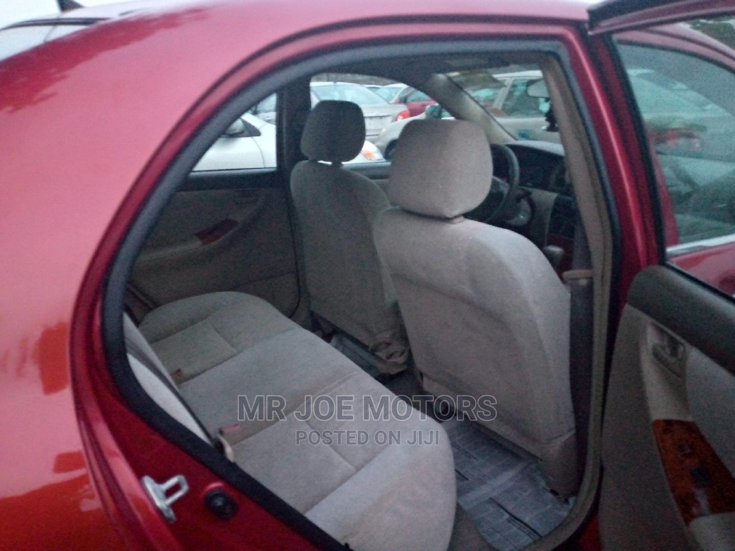 Toyota Corolla 2004 LE Red | Cars for sale in Apapa, Lagos State, Nigeria