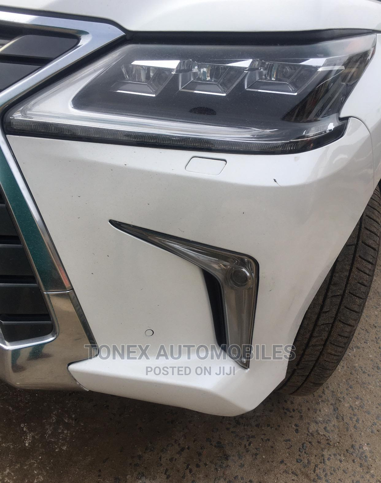 Archive: Lexus LX 2017 570 Base White