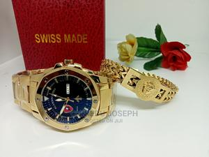 Swiss Lamborghini Wristwatch and Handchain   Watches for sale in Lagos State, Ikeja
