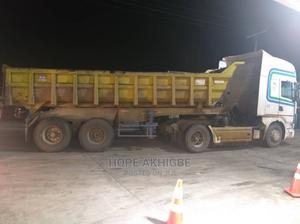 Scania R114 Tractor Head and 35ton Bucket for Sale   Heavy Equipment for sale in Edo State, Benin City