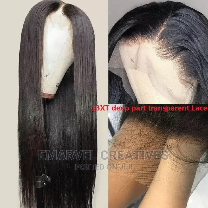Straight Human Hair Wigs Brazilian Straight Human Hair Wigs   Hair Beauty for sale in Surulere, Lagos State, Nigeria