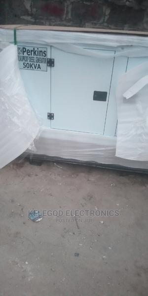 Original Perkins 50kva Soundproof Diesel Generator   Electrical Equipment for sale in Lagos State, Agbara-Igbesan