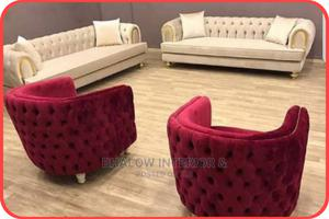 Modern Set of Button Sofa   Furniture for sale in Lagos State, Agege