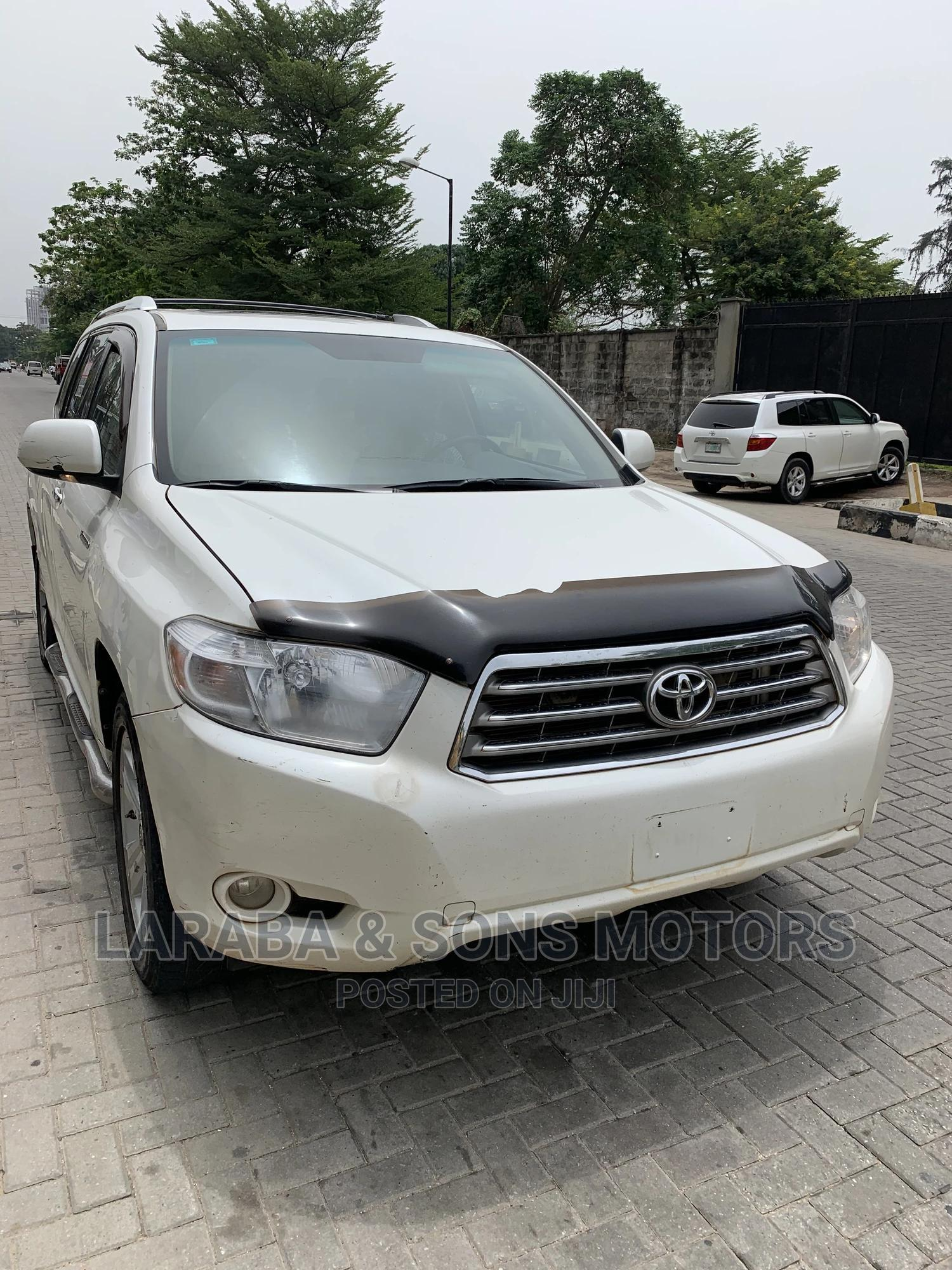 Toyota Highlander 2010 Limited White | Cars for sale in Ikoyi, Lagos State, Nigeria