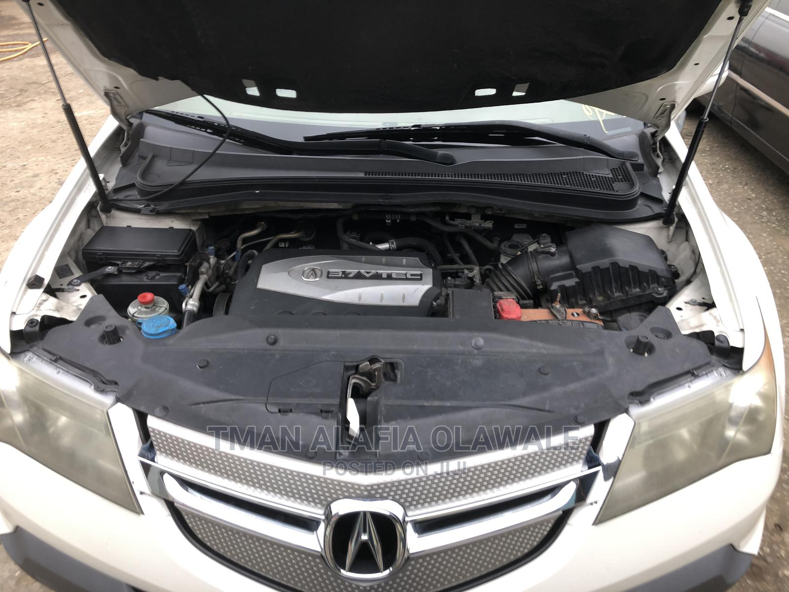 Acura MDX 2007 White | Cars for sale in Agege, Lagos State, Nigeria