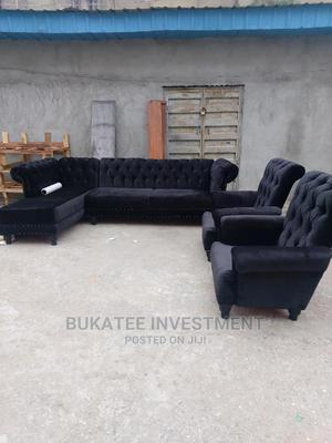Fabric Sofa Chair   Furniture for sale in Lagos State, Ojo