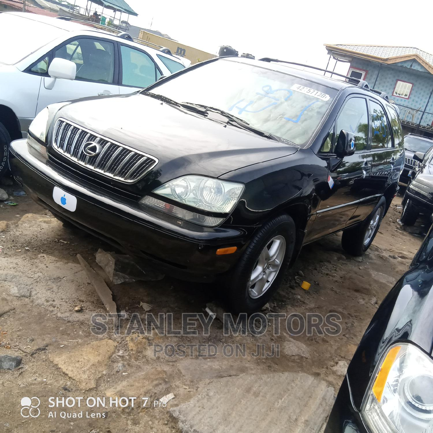 Lexus RX 2001 300 Black | Cars for sale in Apapa, Lagos State, Nigeria