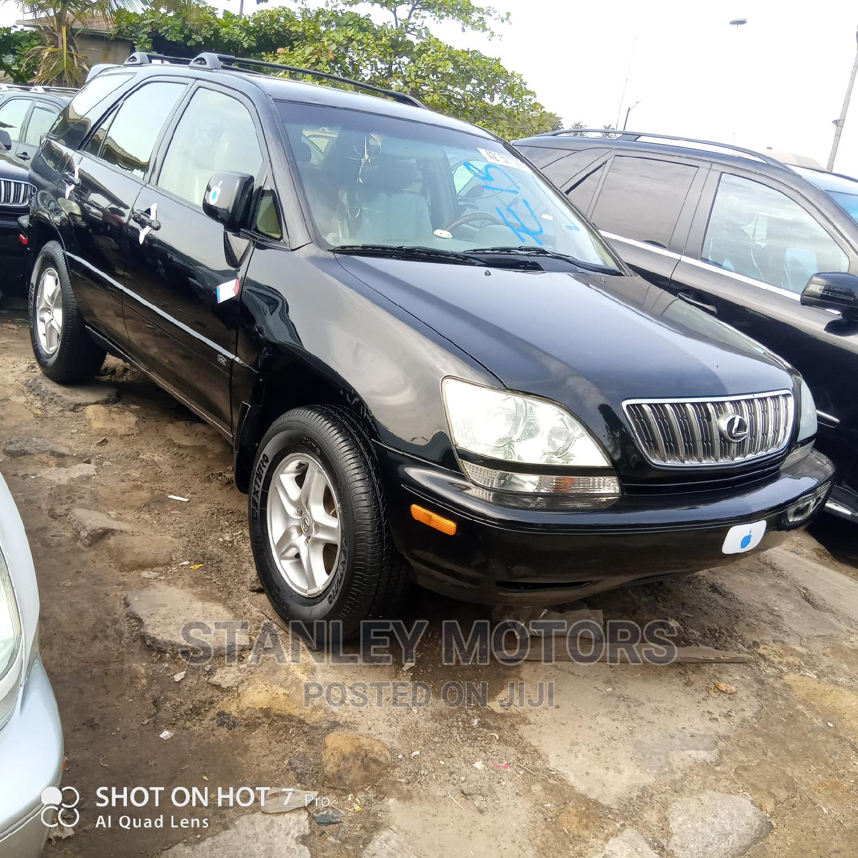 Lexus RX 2001 300 Black | Cars for sale in Apapa, Lagos State, Nigeria