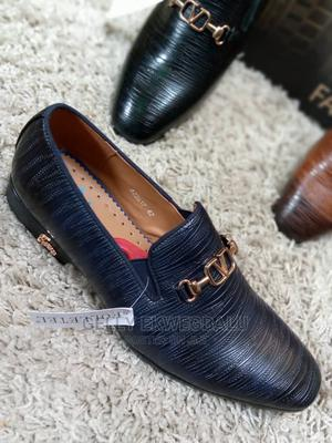 Folletel Men's Shoes; Blue and Black | Shoes for sale in Lagos State, Apapa
