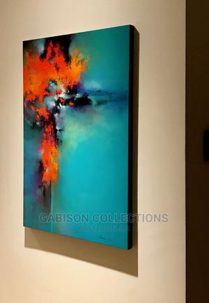 Beautiful Abstract Artwork With Frame   Arts & Crafts for sale in Lagos State, Ajah