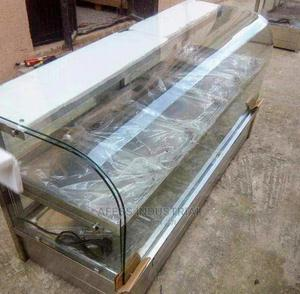 Brand New Curve Bain Marie, 10 Plates | Restaurant & Catering Equipment for sale in Lagos State, Victoria Island