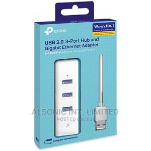 Tp-Link USB 3.0 to Ethernet Adapter, Portable 3-Port USB Hub | Computer Accessories  for sale in Abuja (FCT) State, Wuse