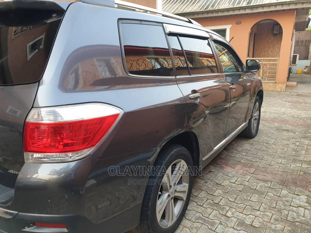 Toyota Highlander 2012 Limited Gray   Cars for sale in Alimosho, Lagos State, Nigeria