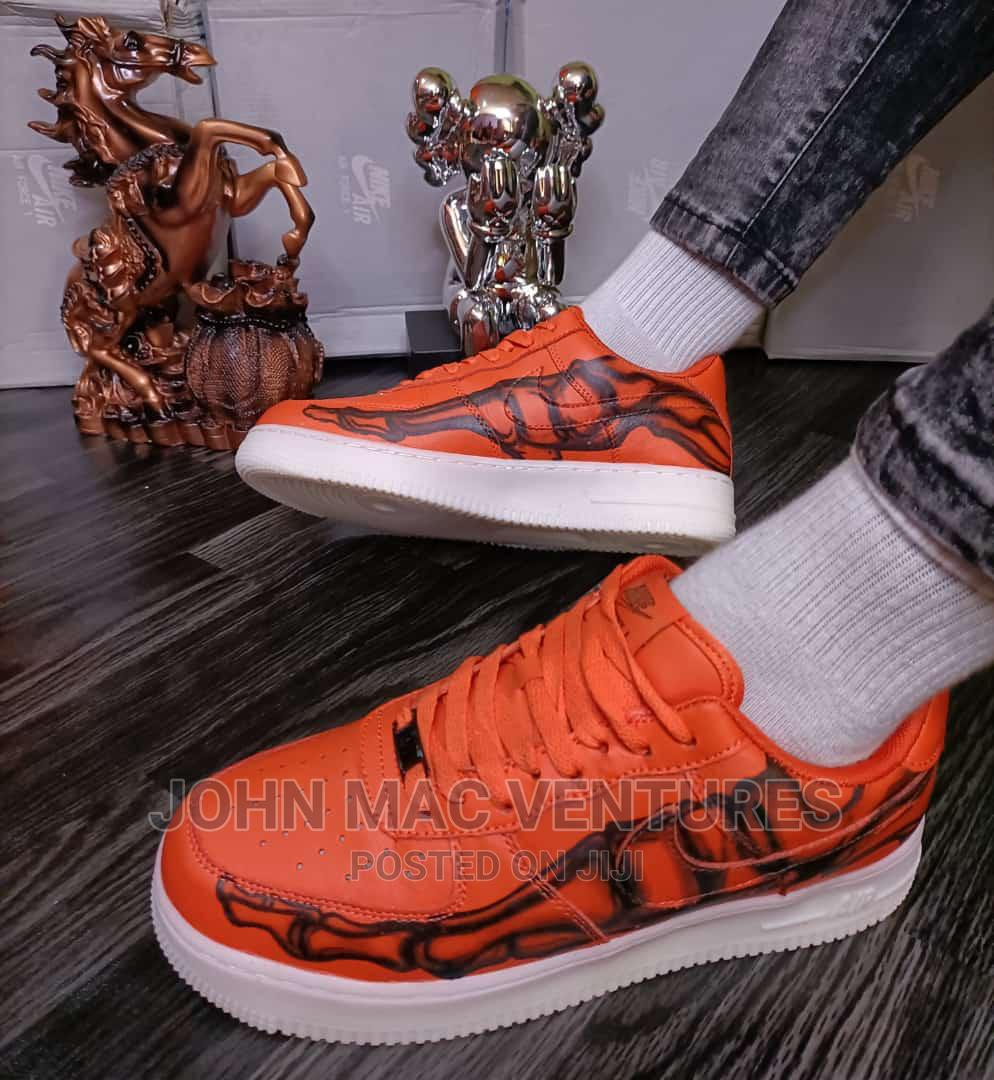 New Orange Original Nike Sneakers