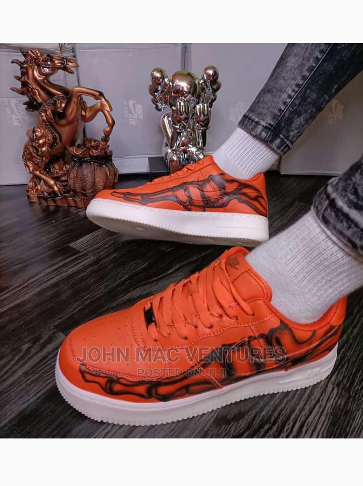 New Orange Original Nike Sneakers | Shoes for sale in Isolo, Lagos State, Nigeria