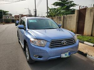 Toyota Highlander 2008 Blue | Cars for sale in Lagos State, Magodo