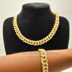 Gorgeous Cuban Chain and Bangle | Jewelry for sale in Enugu State, Enugu
