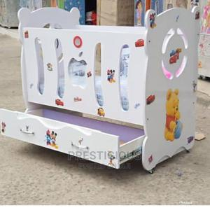 Wooden Baby Crib Cot   Children's Furniture for sale in Lagos State, Ojodu