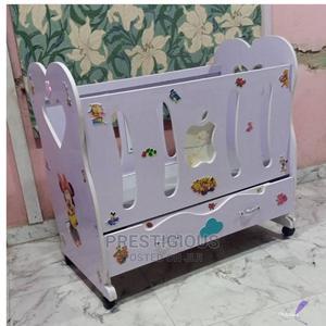 Wooden Baby Crib Cot   Children's Furniture for sale in Lagos State, Lekki
