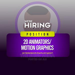 2D Animation Interns Wanted | Internship Jobs for sale in Oyo State, Ibadan