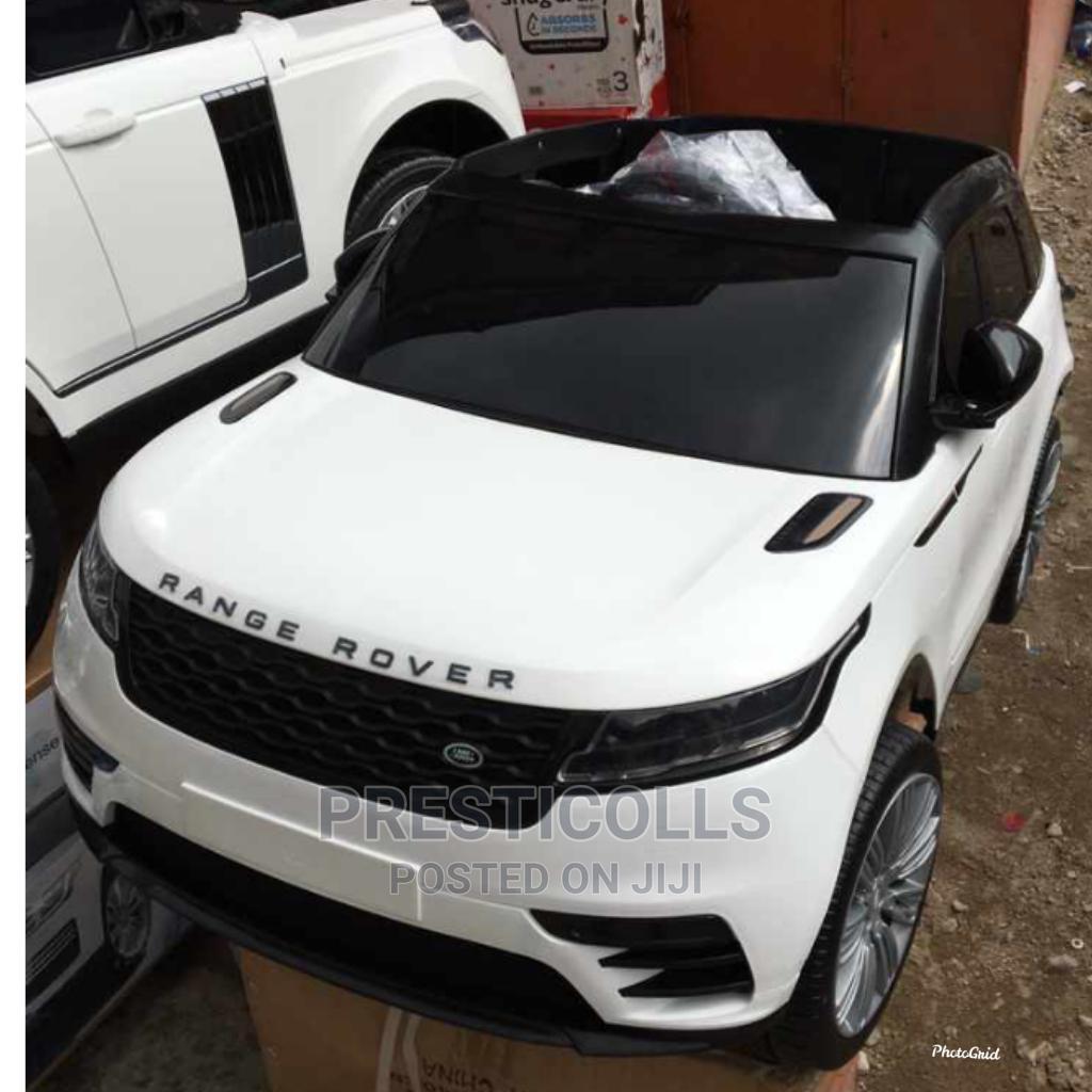 Kids Range Rover Ride on Car