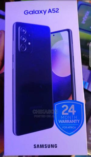 New Samsung Galaxy A52 128 GB Black | Mobile Phones for sale in Abuja (FCT) State, Wuse
