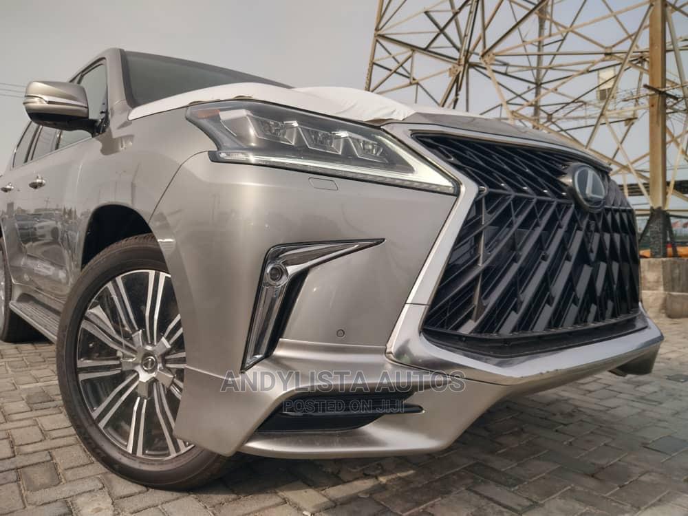Lexus LX 2020 570 Three-Row Gold