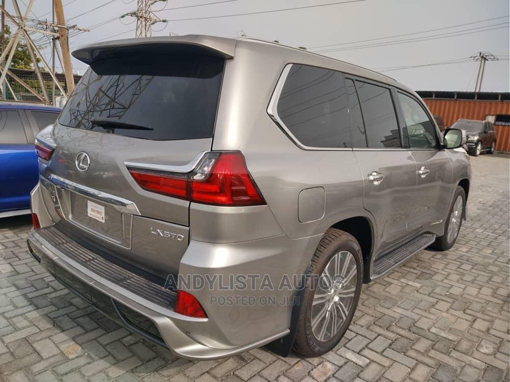 Lexus LX 2020 570 Three-Row Gold   Cars for sale in Lekki, Lagos State, Nigeria