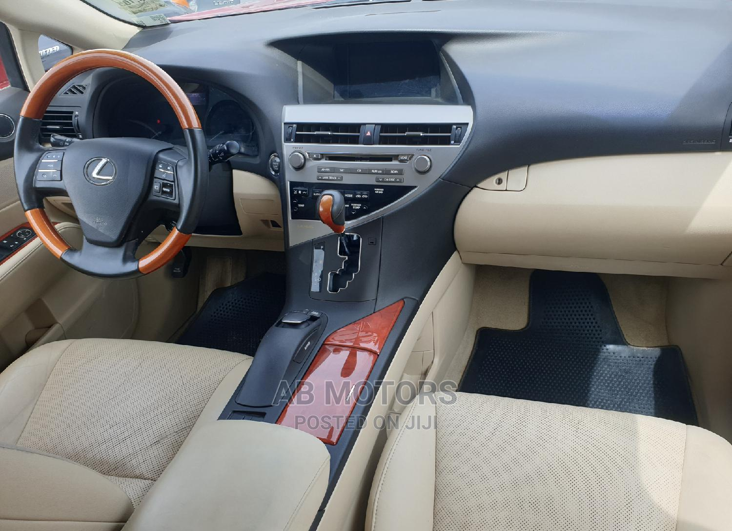 Lexus RX 2010 350 Red | Cars for sale in Apapa, Lagos State, Nigeria