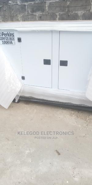 Original Perkins Soundproof Diesel Generator 100kva   Electrical Equipment for sale in Lagos State, Surulere