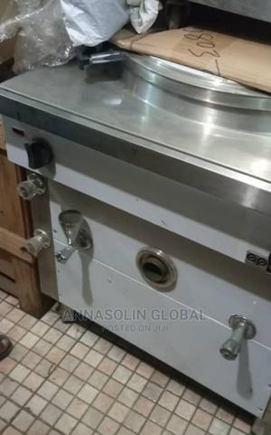 Industrial Boiling Pan for Boiling Food/Water in Big Quantit   Restaurant & Catering Equipment for sale in Lagos State, Ojo
