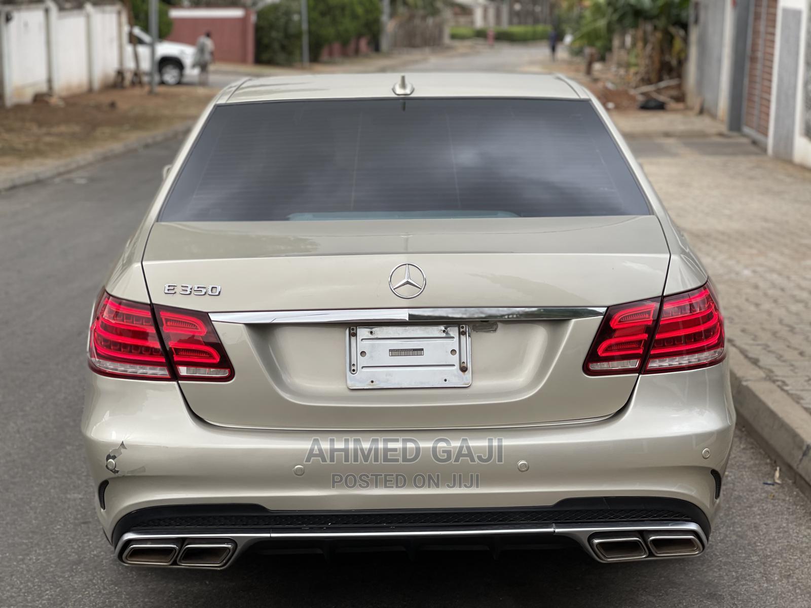 Mercedes-Benz E350 2011 Gold | Cars for sale in Asokoro, Abuja (FCT) State, Nigeria