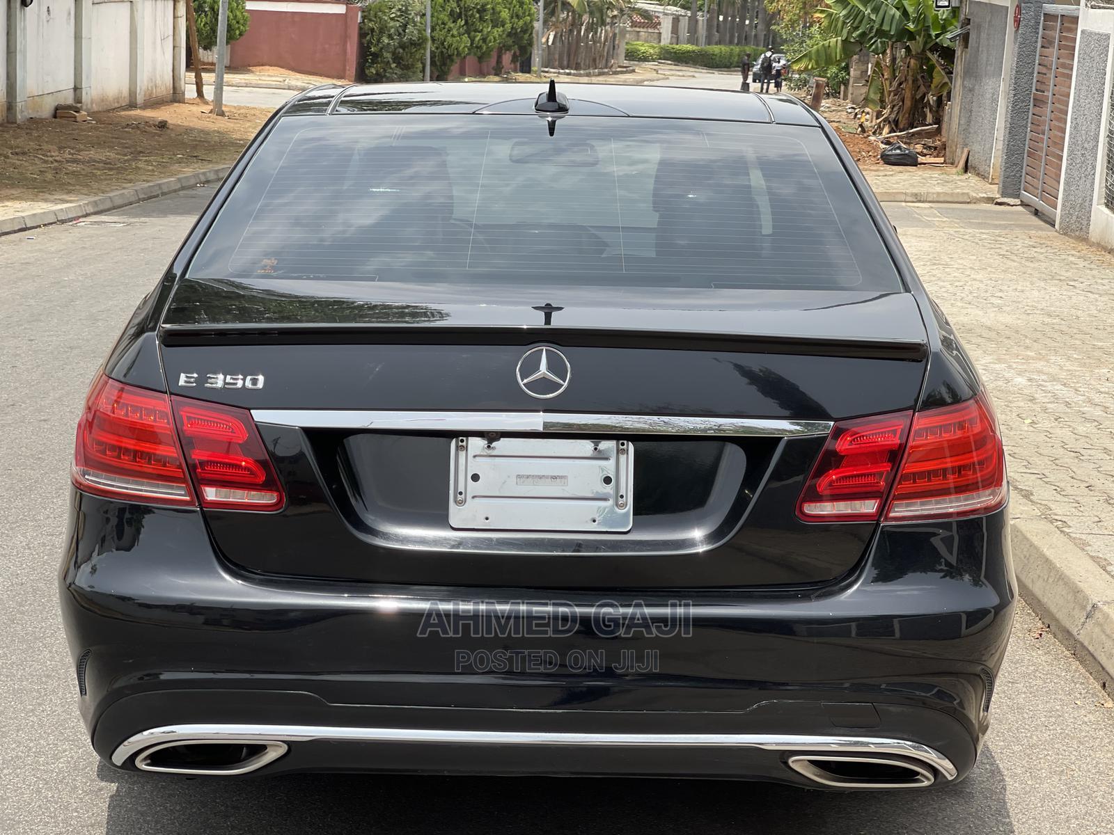 Mercedes-Benz E350 2015 Black | Cars for sale in Asokoro, Abuja (FCT) State, Nigeria