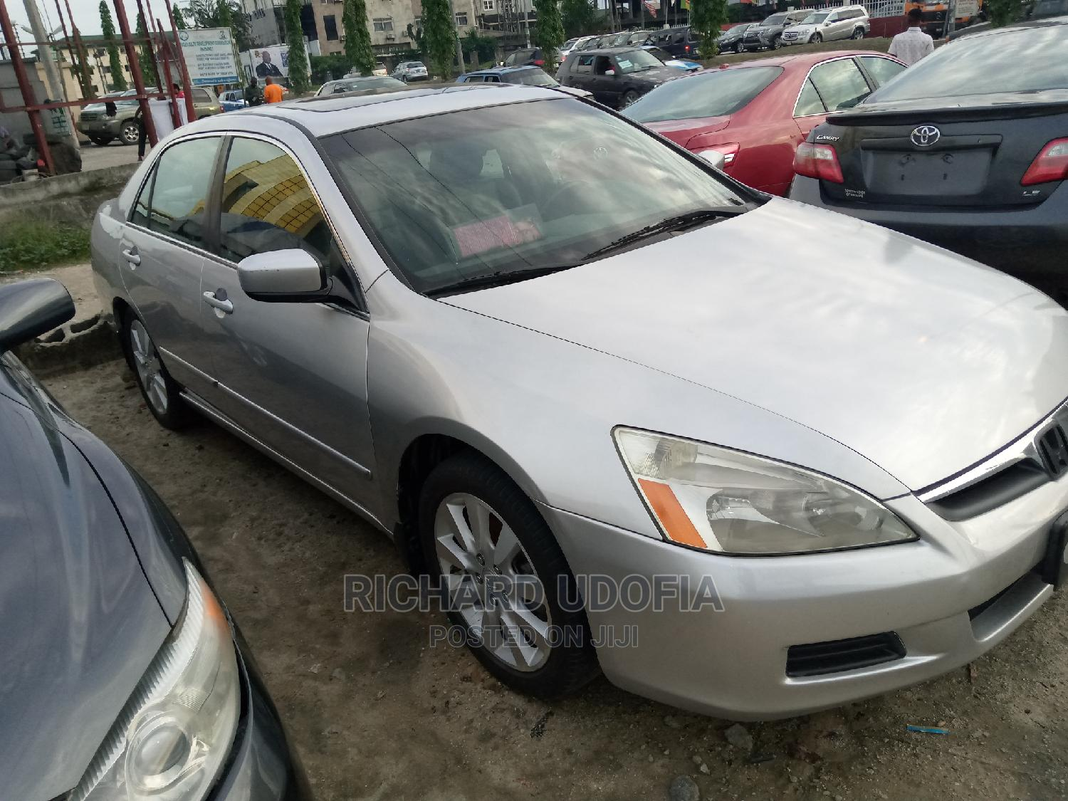 Honda Accord 2006 Sedan LX 3.0 V6 Automatic Silver | Cars for sale in Port-Harcourt, Rivers State, Nigeria