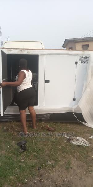 Brand New Original Perkins Soundproof Generators 300kva   Electrical Equipment for sale in Lagos State, Ogba