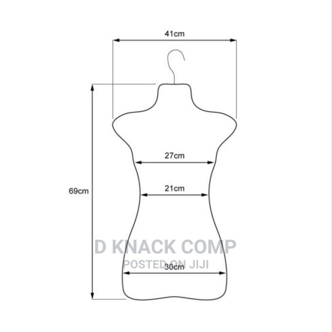Backless Half Body Plastic Female Mannequin | Store Equipment for sale in Ejigbo, Lagos State, Nigeria