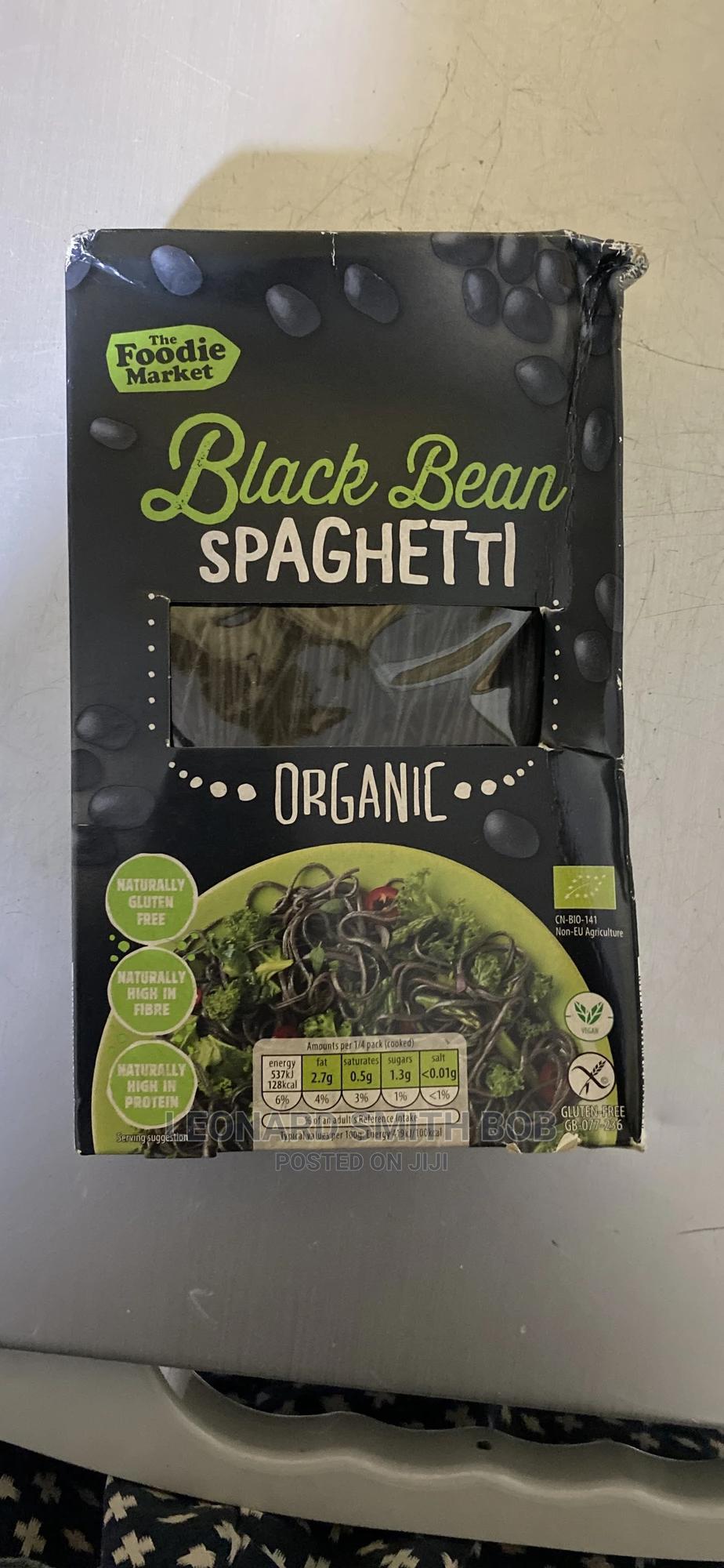 Archive: Black Bean Organic Spaghetti